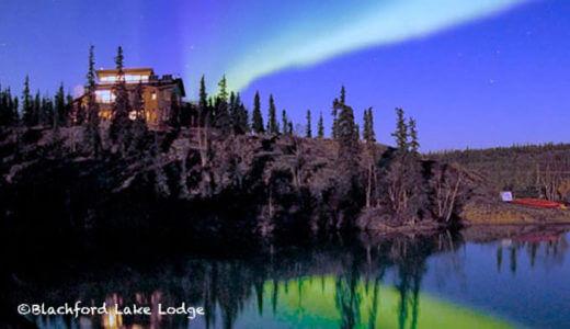 オーロラの旅:ブラッチフォード・レイク・ロッジ – Blachford Lake Lodge