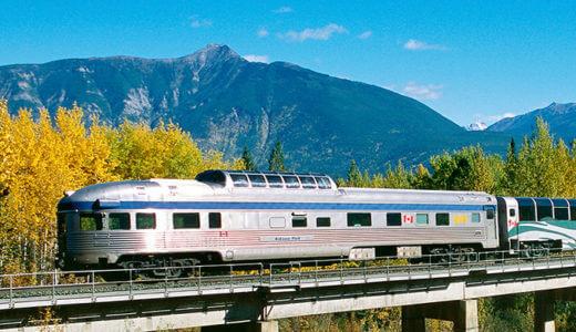 カナダ鉄道の旅