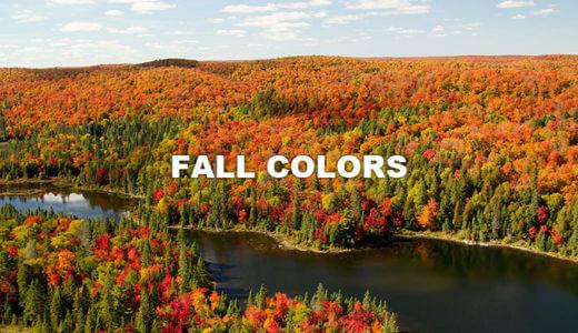 カナダ紅葉の旅