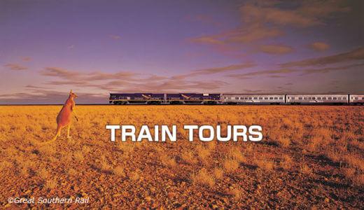 オーストラリア鉄道の旅
